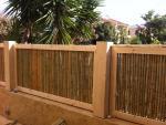 גדר עץ במבוק (5)